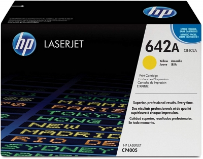 HP CB402A Color LaserJet (CLJ) CP4005 Yellow Toner - Aftermarket