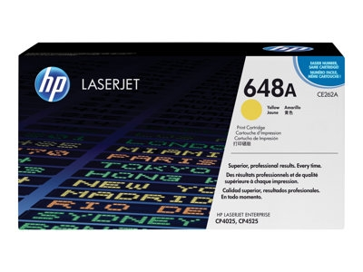HP CE262A Color LaserJet (CLJ) CP4025/4525 Yellow Toner - Aftermarket